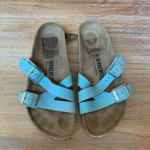 Blue Birkenstock Sandals